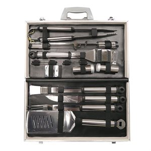 21pc Prestige Stainless Steel Tool Set