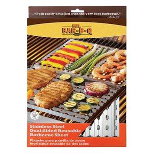 Mr. Bar-B-Q Dual Sided Reusable BBQ sheet