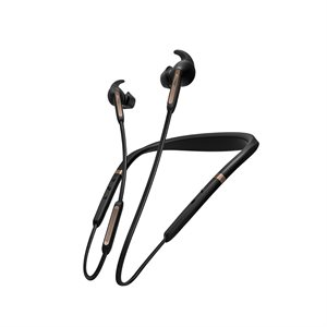 Jabra Elite 65e In-Ear Noise Cancelling Bluetooth Headphones, Copper / Black