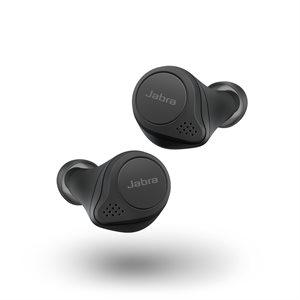 Jabra Elite 75t Truly Wireless Earbuds - Black
