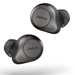 Jabra Elite 85t with Advanced ANC Earbuds - Titanium Black