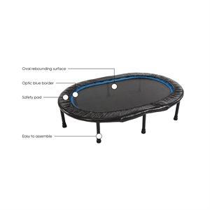 Stamina Oval Fitness Trampoline 35-1691