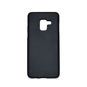 Affinity Gelskin for Samsung A8 (2018), Solid Black