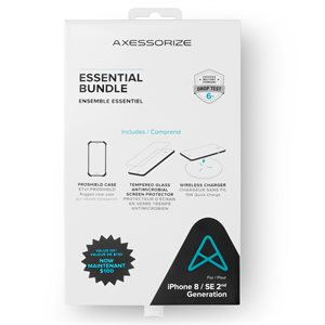 Axessorize Essential Bundle PROShield for iPhone SE2 / 8 / 7