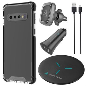Axessorize Essential Bundle PROShield for Samsung Galaxy S10