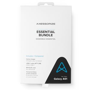 Axessorize Essential Bundle for Samsung Galaxy A51