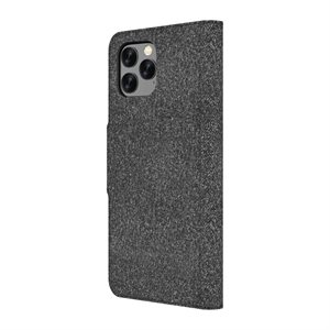 Axessorize LUXFolio case for iPhone 11 Pro, Comet Black