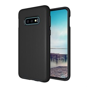 Axessorize PROTech Case for Samsung Galaxy S10e, Black