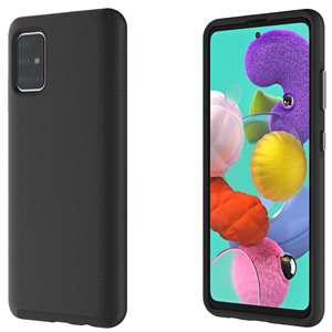 Axessorize PROTech Case for Samsung Galaxy A51, Black