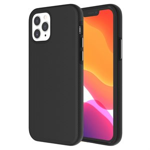 Axessorize PROTech Case for Apple iPhone 12 / 12 Pro, Black