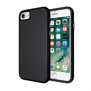 Axessorize PROTech Case for Apple iPhone SE2 / 8 / 7, Black