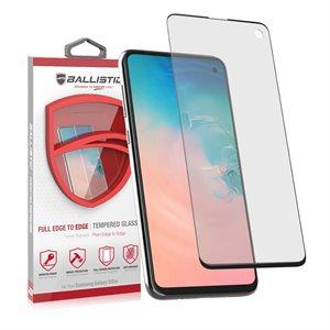 Ballistic Full Edge Glass SP Sam Galaxy S10e Clear