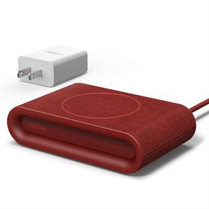 iOttie iON Wireless Plus Fast Charging Pad - Red