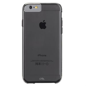Case-Mate Naked Tough Case for iPhone 6 / 6s, Smoke / Black