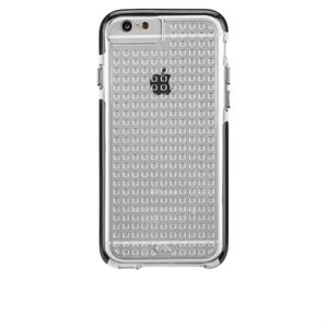 Case-Mate Tough Air Case for iPhone 6 / 6s, Clear / Black