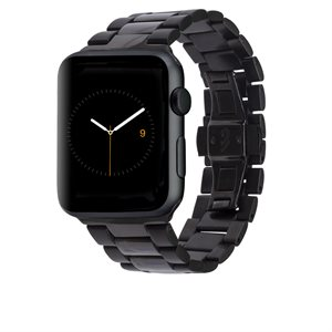 Case-Mate 42mm Linked Apple Watchband, Black / Grey