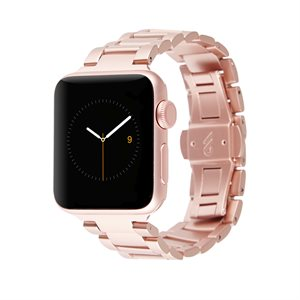 Case-Mate 38mm Linked Apple Watchband, Rose Gold