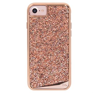Case-Mate Brilliance Tough Case for iPhone SE / 8 / 7 / 6 / 6s - Rose Gold