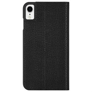 Case-Mate Barely There Folio Case for iPhone XR - Black