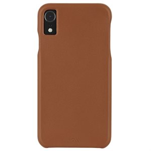 Case-Mate Barely There Leather iPhone XR, Butterscotch
