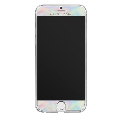 Case-Mate Gilded Glass Screen Protector for iPhone 7 Plus / 8 Plus, Iridescent