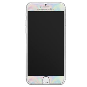 Case-Mate Gilded Glass Screen Protector for iPhone 7 / 8, Iridescent