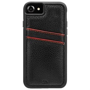 Case-Mate Tough ID Case for iPhone SE / 8 / 7 / 6 / 6s, Black