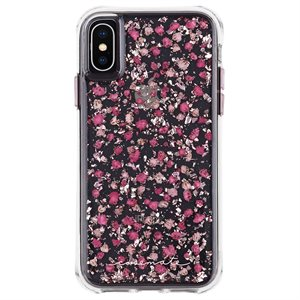 Case-Mate Karat Petals Case for iPhone X / Xs, Ditsy Petals Pink