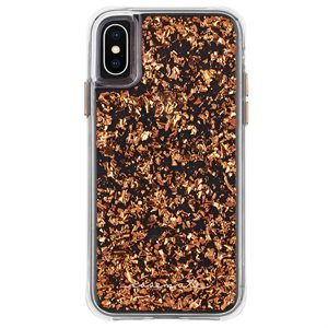 Case-Mate Karat Case for iPhone X / Xs, Rose Gold
