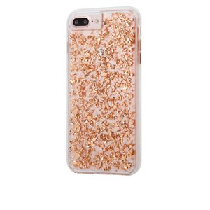 Case-Mate Karat Case for iPhone 6 Plus / 6s Plus / 7 Plus / 8 Plus, Rose Gold