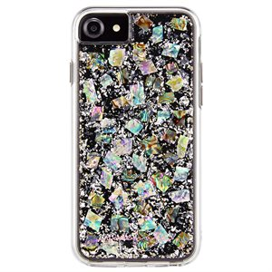 Case-Mate Karat Case for iPhone SE / 8 / 7 / 6 / 6s, Pearl