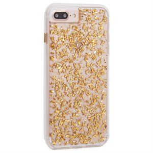 Case-Mate Karat Case for iPhone 6s Plus / 7 Plus / 8 Plus, Gold