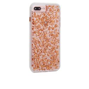 Case-Mate Karat Case for iPhone 6s Plus / 7 Plus / 8 Plus, Rose Gold
