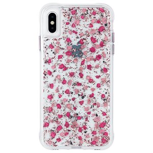 Case-Mate Karat Petals Case for iPhone Xs Max, Ditsy Petals Pink