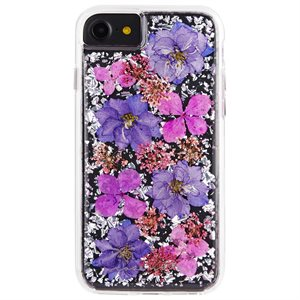 Case-Mate Karat Petals Case for iPhone 6s / 7 / 8, Purple