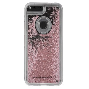 Case-Mate Naked Tough Waterfall Case for Google Pixel, Rose Gold