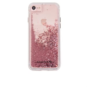 Case-Mate Naked Tough Waterfall Case for iPhone 6 / 6s Plus, Rose Gold