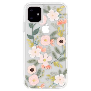 Case-Mate Rifle Paper Case for iPhone 11, Wild Flowers