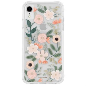 Case-Mate Rifle Paper Case for iPhone XR, Wildflowers