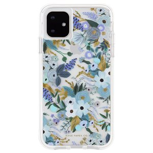 Case-Mate Rifle Paper Case for iPhone 11 - Garden Party Blue
