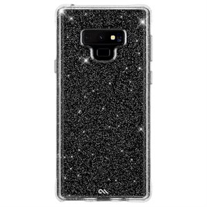 Case-Mate Sheer Crystal Case for Samsung Galaxy Note 9, Clear