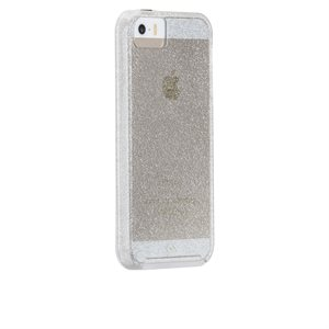 Case-Mate Naked Tough Sheer Glam Case for iPhone 5s / SE, Champagne