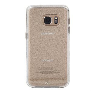Case-Mate Naked Tough Sheer Glam Case for Samsung Galaxy S7, Champagne