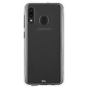 Case-Mate Tough Clear Case for Samsung Galaxy A20, Clear