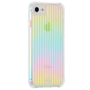 Case-Mate Tough Groove Case for iPhone Xr, Iridescent
