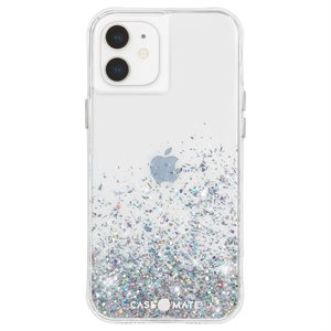 Case-Mate Twinkle Case for iPhone 12 Mini with Micropel, Ombre