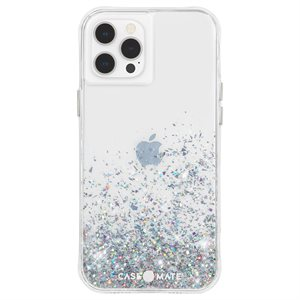 Case-Mate Twinkle Case for iPhone 12 / 12 Pro with Micropel, Ombre