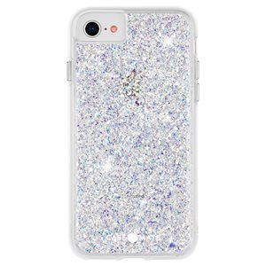Case-Mate Twinkle Case for iPhone SE2 / 8 / 7 / 6 / 6s with Micropel - Star