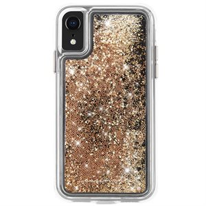 Case-Mate Waterfall Case for iPhone XR, Gold