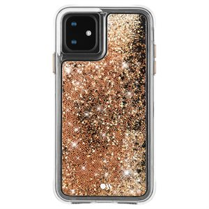 Case-Mate Waterfall Case for iPhone 11, Gold